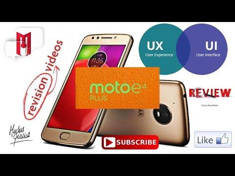 Motorola Moto E4 Plus. Características del Sistema Operativo, Interfaz de Usuario y Personalización