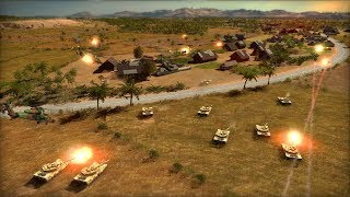BREAKING: NORTH KOREAN INVADING TANKS BREAK DEFENSE | Wargame: Red Dragon Gameplay
