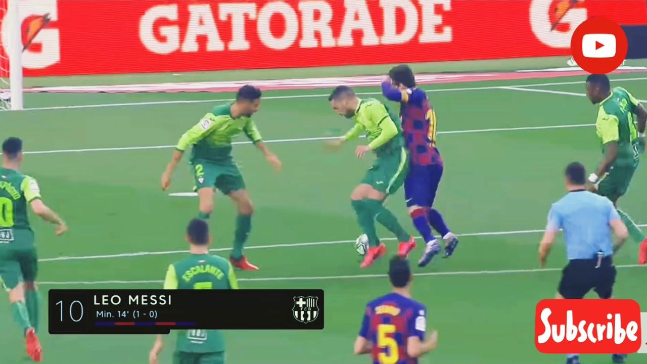 Barcelona vs Eibar (5-0) - YouTube