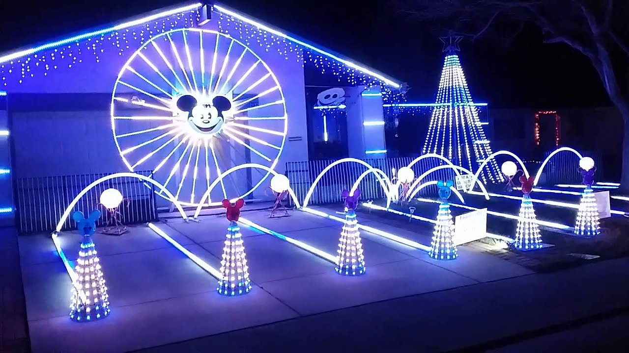 Christmas Light Show Music/Sound FX Fairfield, Ca
