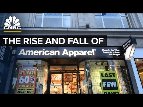 The Rise And Fall Of American Apparel