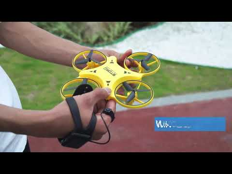 Gesture control Drone with LED