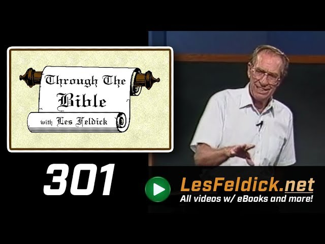 [ 301 ] Les Feldick [ Book 26 - Lesson 1 - Part 1 ] The Wisdom of God Versus the Wisdom of Man |a