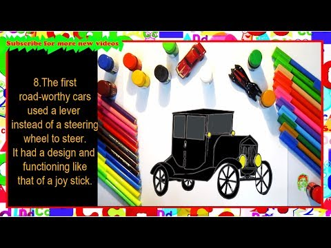 How to Draw a Model T Car