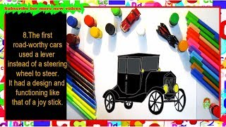 Ford T model car - Draw and know more about it