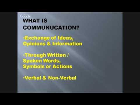 Importance of Business Communication by Ms Suditi Jindal