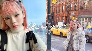 follow me in new york 🗽🇺🇸 daily life & the best places to eat ❤️ thumbnail