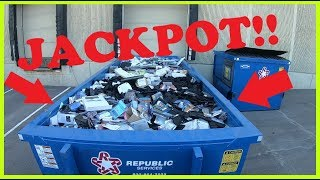 DUMPSTER DIVING!! #45 SCRAP WIRE JACKPOT!