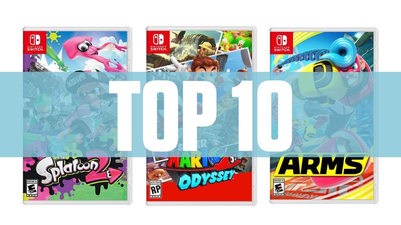 Top 10 Mejores Juegos Nintendo Switch 2017 Youtube