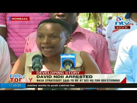 'My husband is not a criminal!' David Ndii's wife narrates how he was arrested