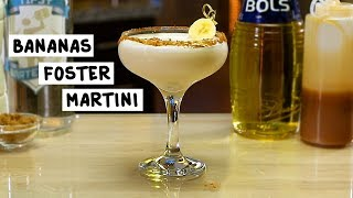 Bananas Foster Martini