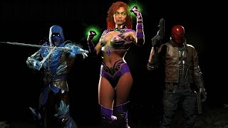 Injustice 2 - Red Hood, Starfire & Sub-Zero Reveal Trailer Fighter Pack 1 DLC @ 1080p HD ✔