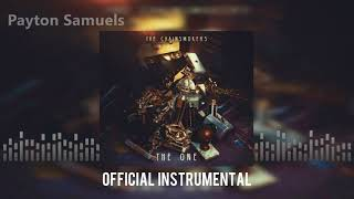 The Chainsmokers - The One (Official Instrumental)
