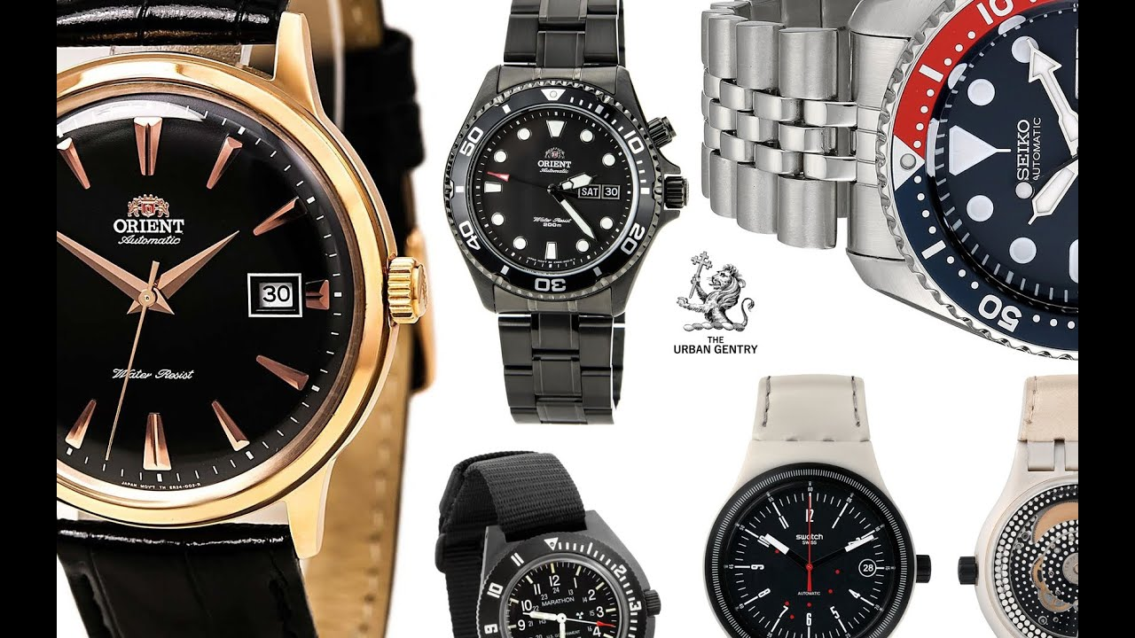 dollar under youtube star top tissot hamilton watches alpinist seiko orient khaki visodate watch