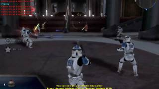 star wars battlefront 2 gameplay: order 66 jedi temple