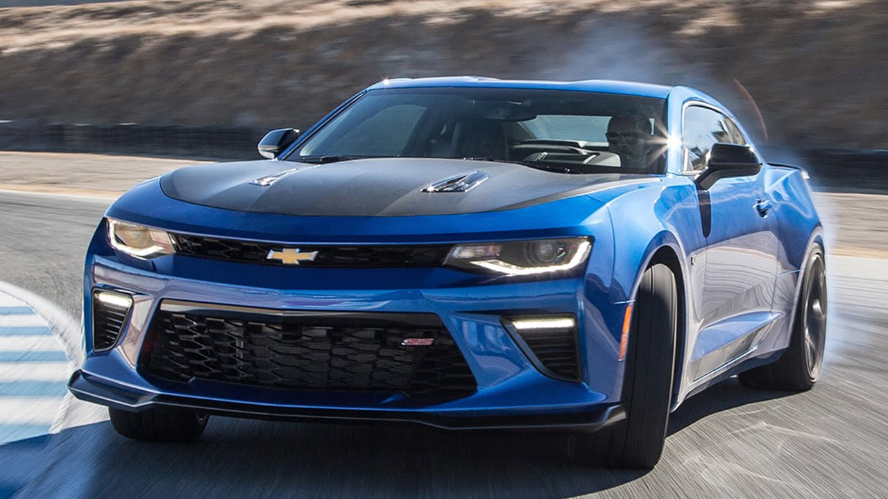 2017 Chevrolet Camaro SS 1LE Hot Lap! - 2016 Best Driver's Car ...