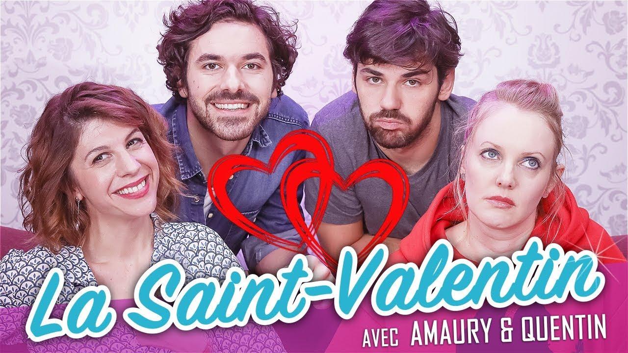 La Saint-Valentin ! (feat. AMAURY et QUENTIN) - Parlons peu Mais parlons ! #1