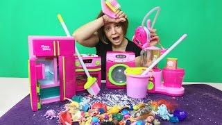 Oyuncaklar ile Temizlik Vakti | Eğlenceli Çocuk Videosu | EvcilikTV