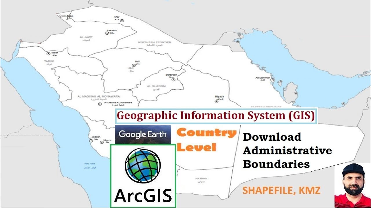 GIS Download Administrative Boundaries of a Country, SHP KMZ File