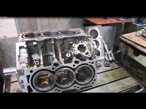 Isuzu Trooper (Isuzu Bighorn) BLOCK machining,liners ,cylinders replacement# Engine rebuild