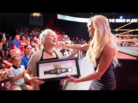 Thumbnail: WWE celebrates everyday Hero Ruby Jibaja