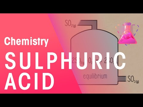Manufacturing Sulphuric Acid | Chemistry for All | The Fuse School