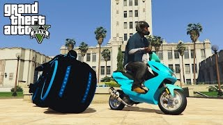 gta 5 tron bike scooter yamaha aerox epic mods