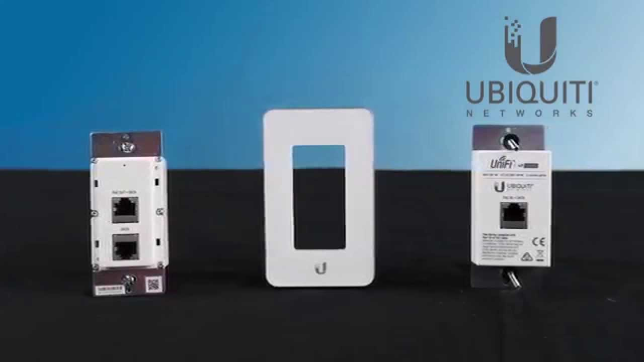 Ubiquiti Unifi Uap Iw In Wall Access Point Unboxing Youtube