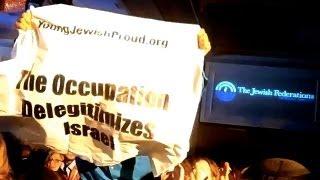 Israel/Palestine: Young Jews Protest Netanyahu at Jewish GA