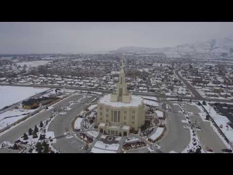 Moroni Fly By, Payson Temple
