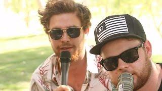 Royal Blood Interview at Coachella 2015
