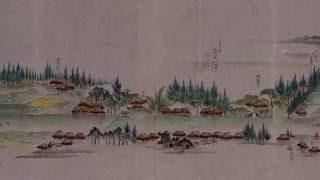 旧日光街道古絵図 (鳩ヶ谷宿から岩槻宿まで)