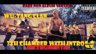 WU-TANG CLAN -7TH CHAMBER /INTRO (RARE NON ALBUM INSTRUMENTAL ) 1003