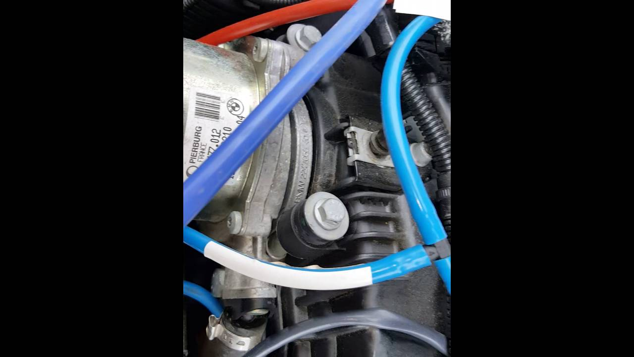Bmw 335d vac lines and lost low end boost