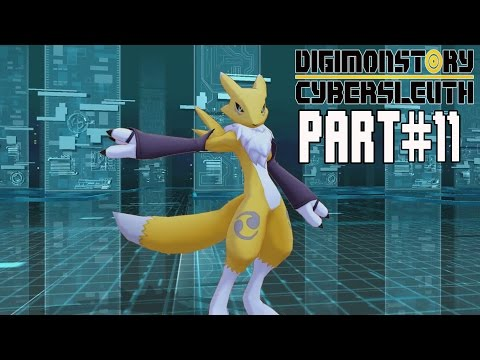 Digimon Story Cyber Sleuth Walkthrough Part 11 Gameplay Lets Play