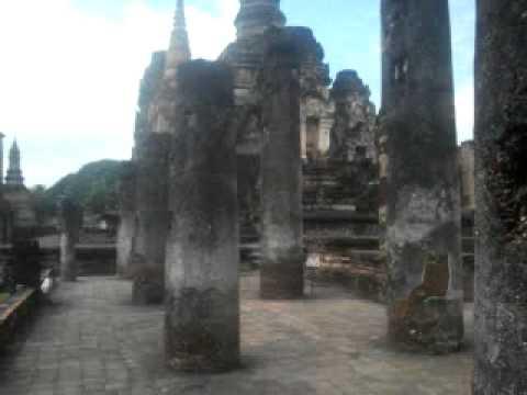 Wat Mahathat - Sukhothaï ( Thailande)