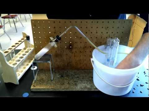 Collecting The Gas Produced By The Reaction Of Magnesium And Sulfuric Acid