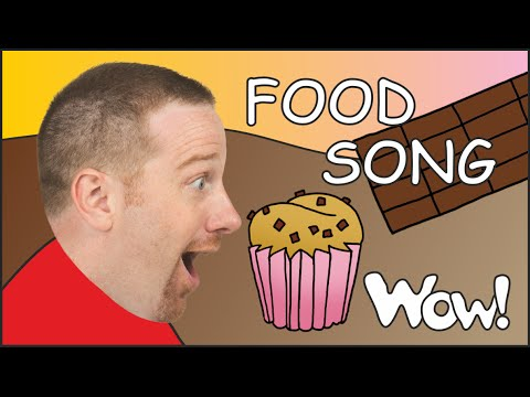 Food Song | Chocolate Cake Song for Kids from Steve and Maggie | English for Children ESL