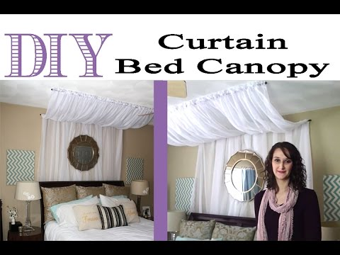 DIY Curtain Bed Canopy | #33