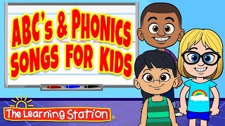 Letter A Song ♫ Kids will Sing & Learn their ABC's ♫ Kids Phonics Songs ♫ by The Learning Station