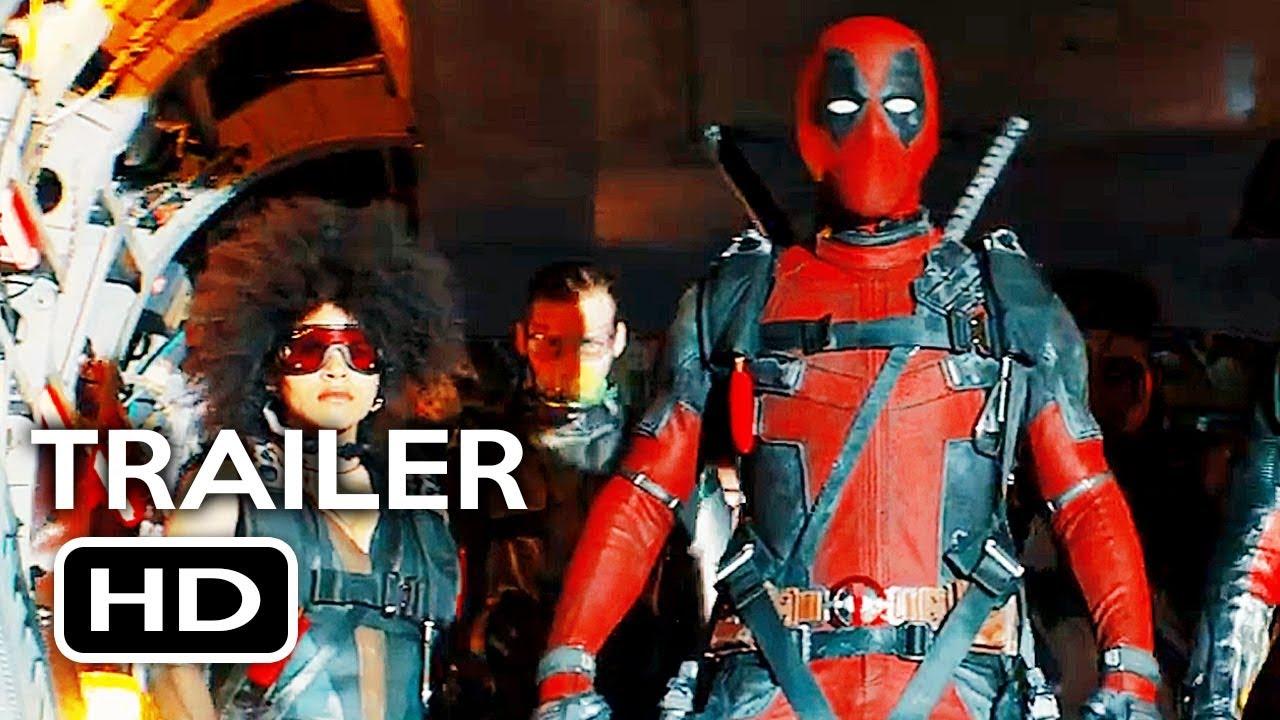 Deadpool 2 Official Teaser Trailer 4 2018 Ryan Reynolds Marvel Movie Hd Youtube