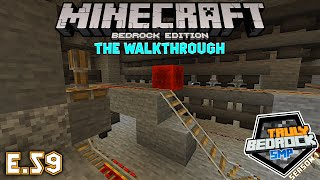 Furnace array for farms. Minecraft Walkthrough on Truly Bedrock S1E59