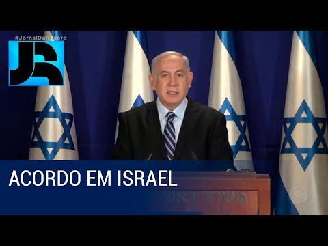 Primeiro-ministro De Israel E Oposição Formam Governo De Emergência