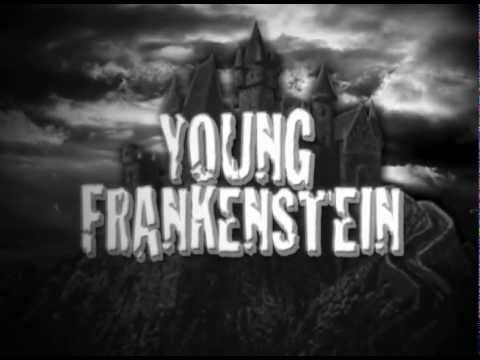Young Frankenstein Credit Open - Class project in After Effects