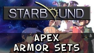 Starbound - Apex Armour Sets