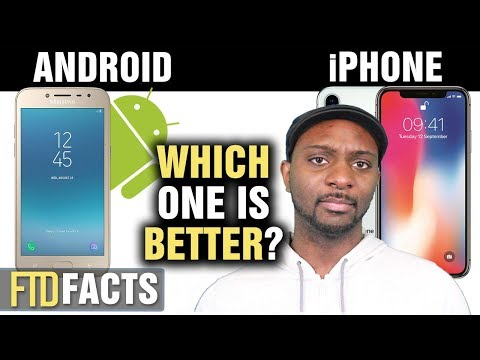 The Differences Between ANDROID and iPHONE - YouTube