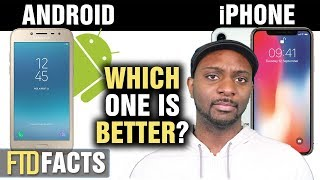 The Differences Between ANDROID and iPHONE thumbnail