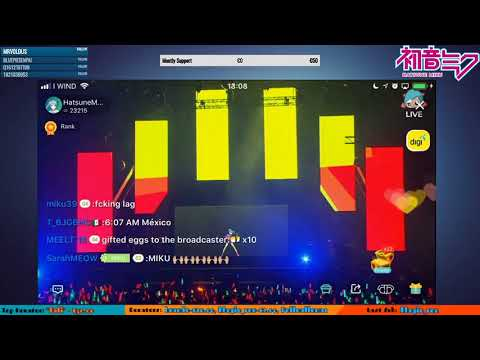 Hatsune Miku Concert Live! in Malaysia Tamago Live Miku Expo 2017 Kuala Lumpur
