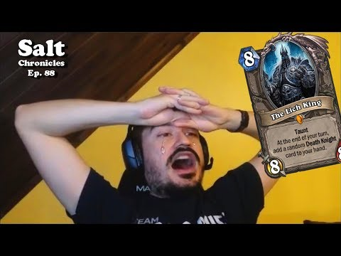 SNIPED AT 11 WINS [Kripp Salt Compilation Ep. 88] Hearthsone funny moments