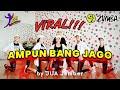 DJ AMPUN BANG JAGO  -  ( HYBIRD FVNKY ) VIRAL 2020 / Zumba / Choreo by Zin JUA_Jember